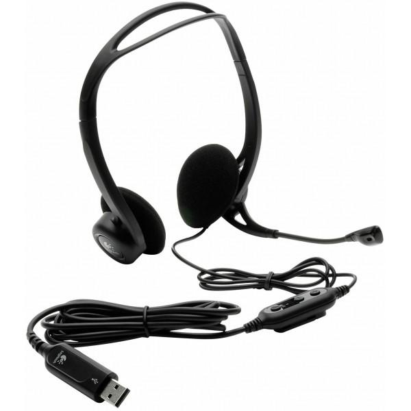 Logitech PC960 Stereo headset USB OEM