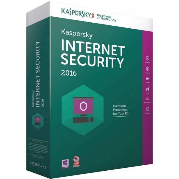 Kaspersky Internet Security za fizicka lica 3 godisnje licence
