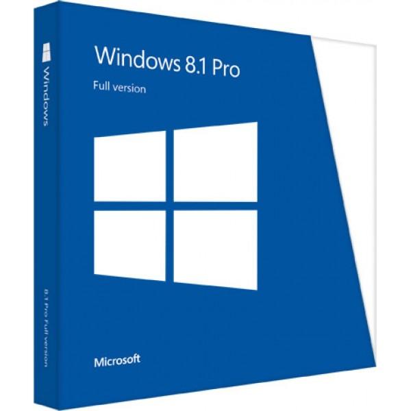 Microsoft Windows 8.1 Pro 32Bit Eng Intl 1pk DSP OEI DVD FQC-06987